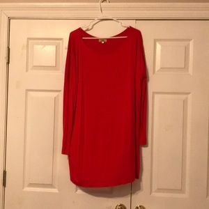 Size large Piko tunic. New without tags